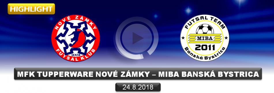 HIGHLIGHT FUTSAL NOVÉ ZÁMKY - BANSKÁ BYSTRICA