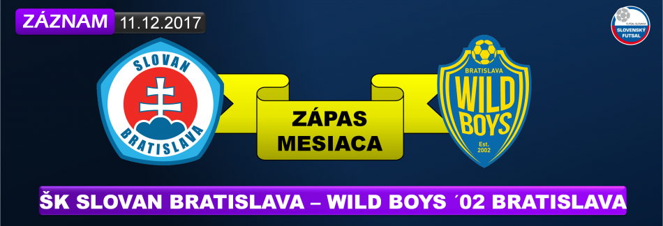 FUTSAL SLOVAN - WILD ZÁZNAM
