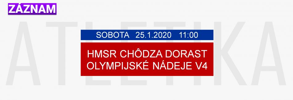 ATLETIKA 25.1.2020 ZÁZNAM