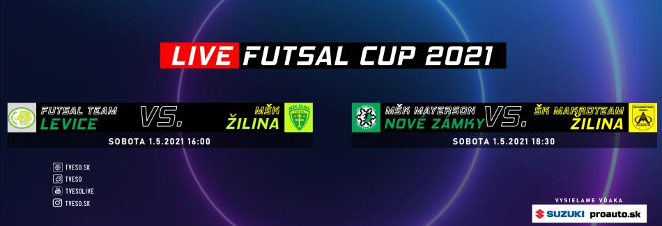 FUTSAL CUP 1.5.2021